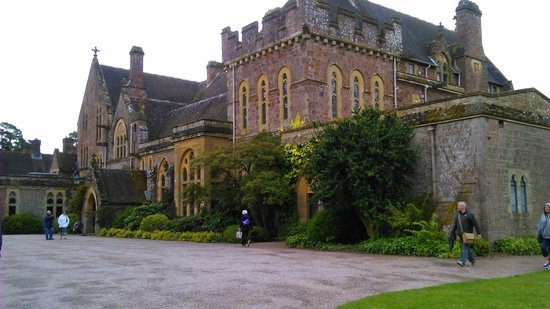 Knightshayes court : between downpours!
