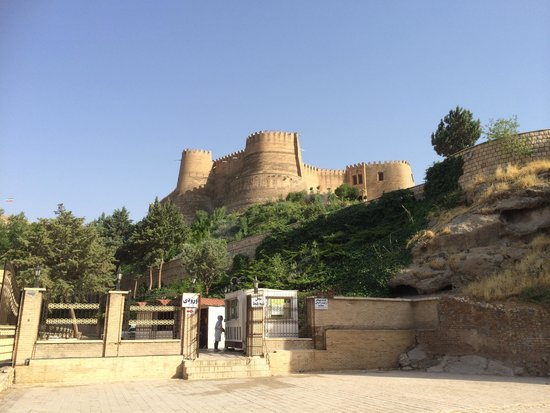 Khorramabad, Iran: Falak-ol-Aflak Castle