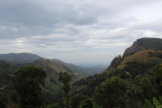 Ella Gap Panorama: View from the extended terrece