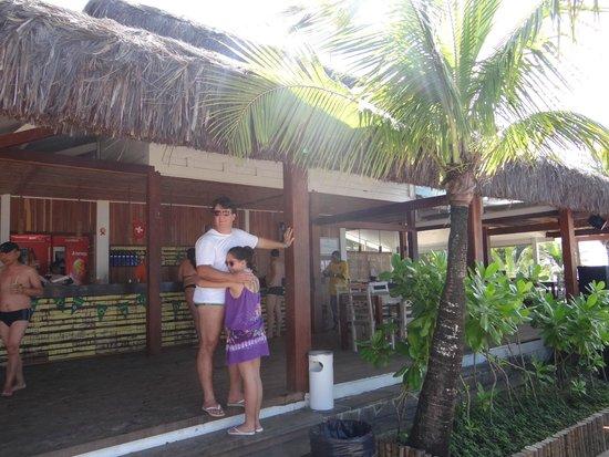 Resort La Torre : Bar da Praia