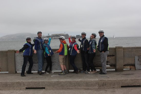 Electric Tour Company Segway Tours: Rockin' the safety gear, having a great time!