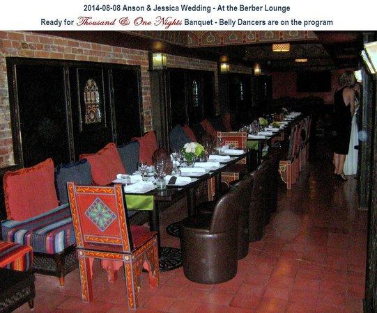 Berber Lounge: Nice setting