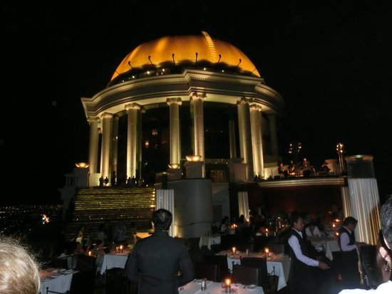 lebua at State Tower: スカイバーです。