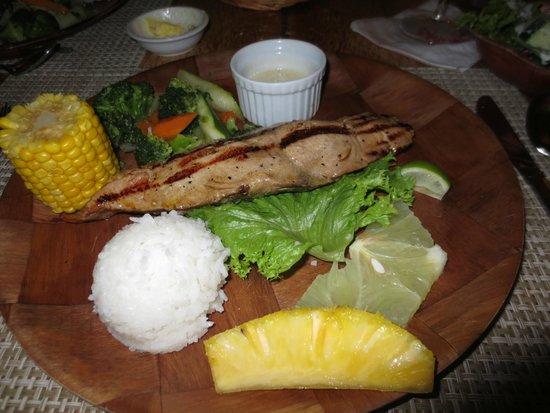 Bloody Mary's : Tuna steak main dish