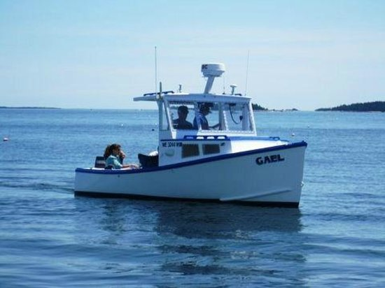 Deer Isle, ME: The Gael, a lobster boat converted to passenger use