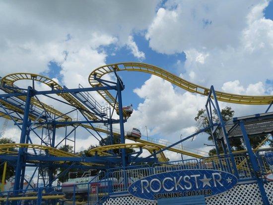 Fun Spot America: Rockstar Coaster