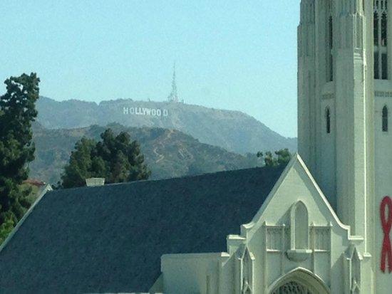 Loews Hollywood Hotel : Hollywood sign