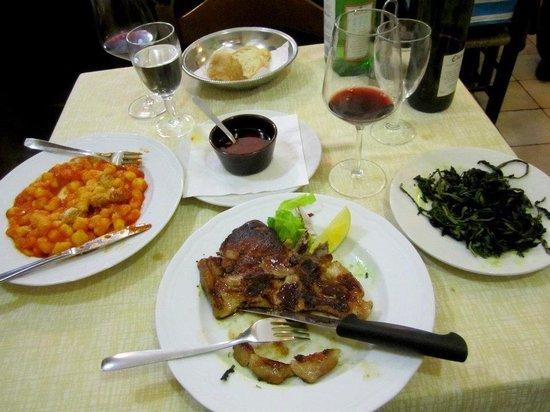 La Lampada : Gnocchi and veal so good