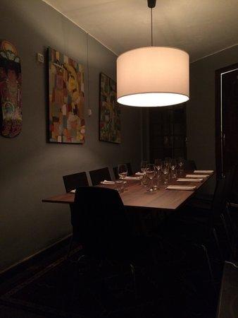 Munchie : Table au rez de chausse ! Très belle ! Digne d'un restaurant étoile!