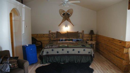 Denali Fireside Cabins & Suites: inside cabin