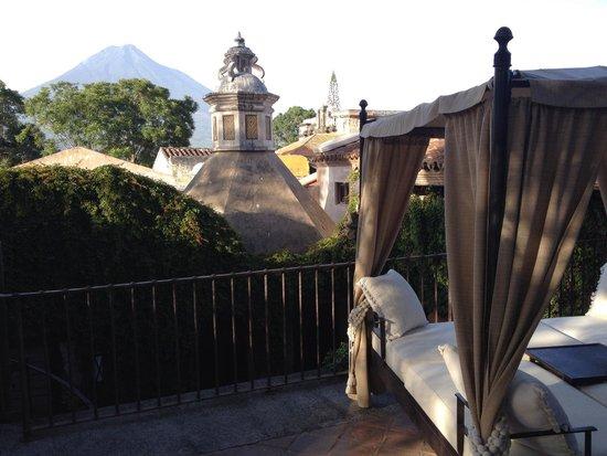 El Convento Boutique Hotel: Rooftop view