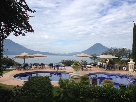 Hotel Atitlan : Lake view