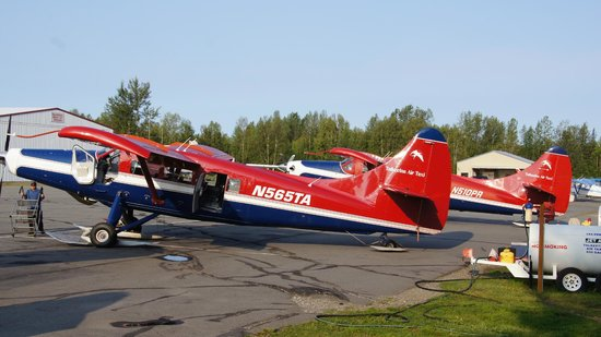 Talkeetna Air Taxi: our plane