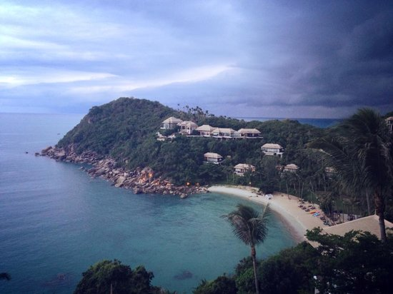 Banyan Tree Samui : Lovely view from Saffron