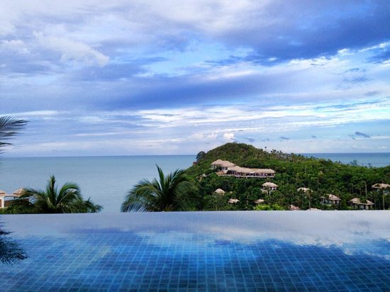 Banyan Tree Samui: Sea view from our Villa