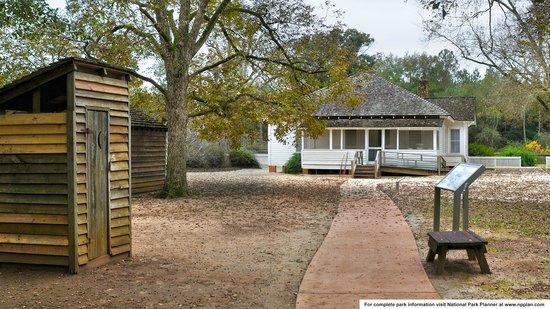 Jimmy Carter National Historic Site : Carter's boyhood farmhouse