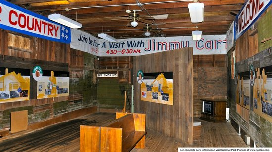 Jimmy Carter National Historic Site : Carter campaigne headquarters museum