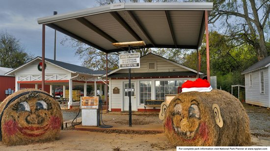 Jimmy Carter National Historic Site : Billy Carter's gas station, now a private museum