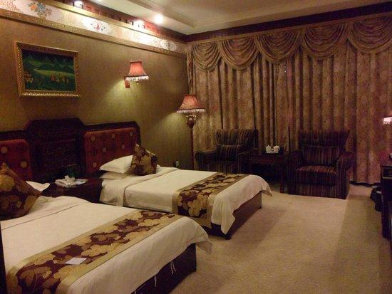 Tashi Choten Hotel: Twin room