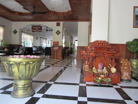 Parent Heritage Angkor Villa : Lobby area