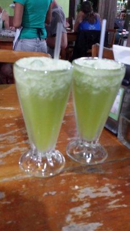 Soda Viquez: Frozen limeade drink