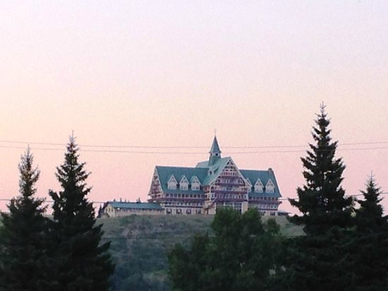 Prince of Wales Hotel: From Waterton