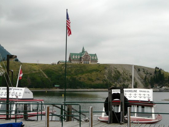 Prince of Wales Hotel: From the boat to Goat Haunt