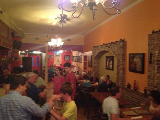 Pablo's Mexican Cuisine: Dining room