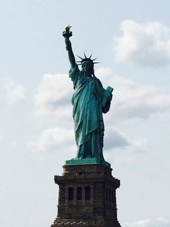 Uniterrupted Views If Statue Of Liberty Just Put Yourself In The