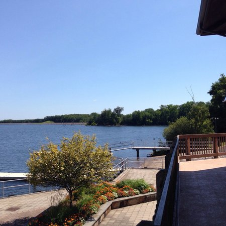 Manasquan Reservoir Visitor Center: View from the visitors center