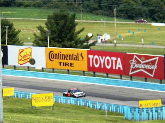 Watkins Glen International: the Esses