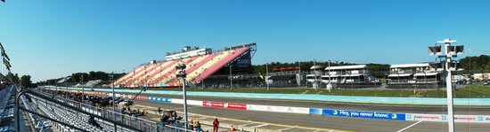 Watkins Glen International: Front stretch