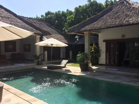 Villa Bugis: Pool view