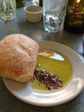 The Mad Batter: Soft warm breads, oil and spices