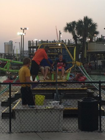 Emerald Falls Family Recreation Center : My daughters favorite thing at PCB !!!! She did this twice!!! A blast
