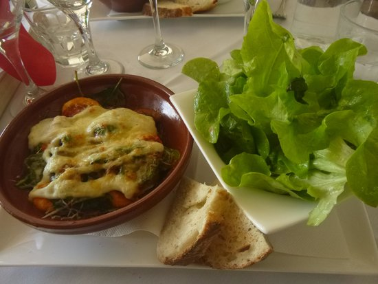 Maison de Provence: Pasta with 2 cheeses