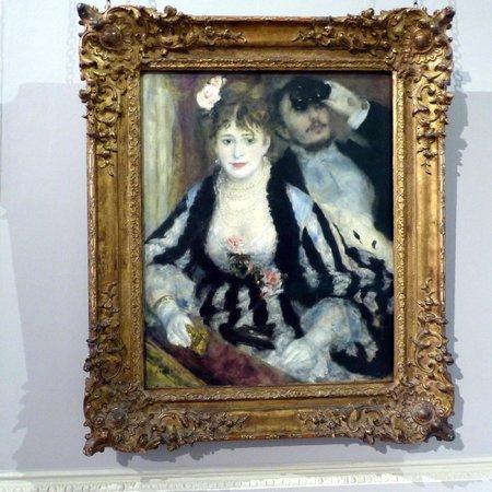 The Courtauld Gallery: La Loge by Renoir