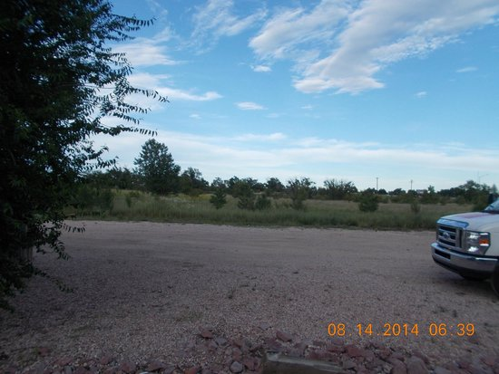 Super 8 Cos/Hwy. 24 E/Pafb Area: Vacant land behind Motel