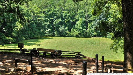 Kennesaw Mountain National Battlefield Park: Cheatham Hill battlefield