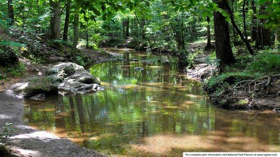 Kennesaw Mountain National Battlefield Park : Creek in Kennesaw Mountain Battlefield Park