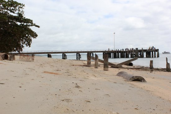 Seisia Holiday Park: Wharf view from Campground