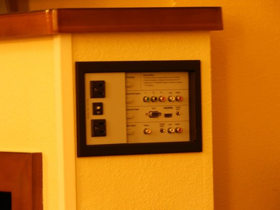 Hyatt Place Columbus - North : I've never seen a hotel that had this. :o