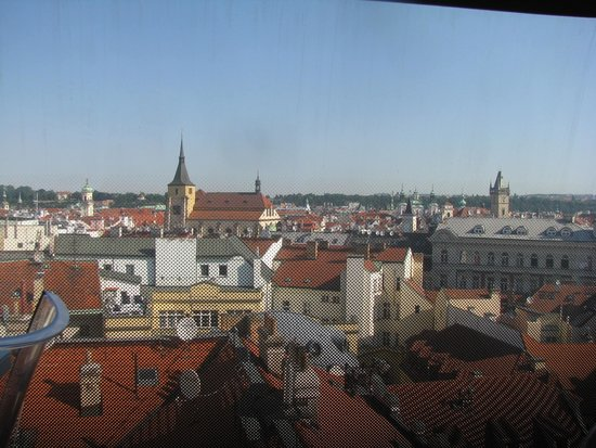 Design Metropol Hotel Prague: view from our room