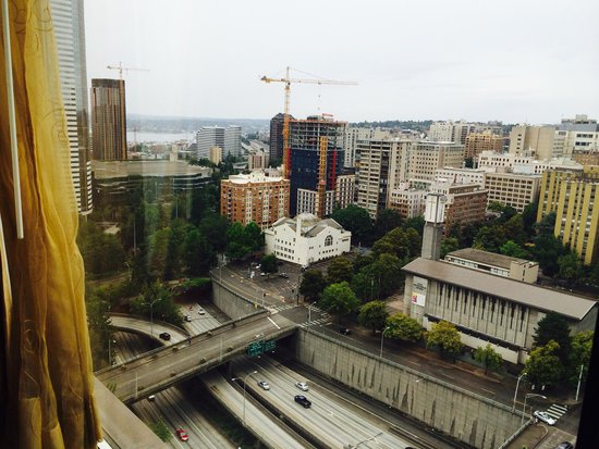Renaissance Seattle Hotel: View from 21st floor