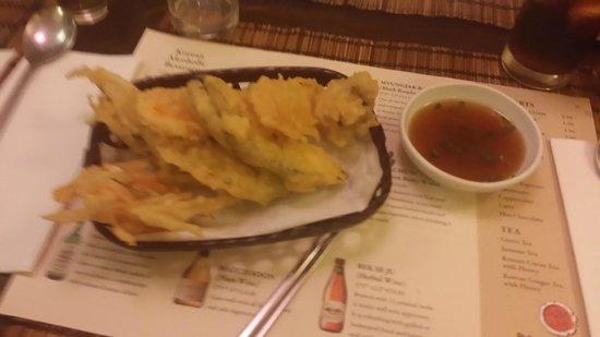 Kimchi Hophouse: Vegetable Tempura