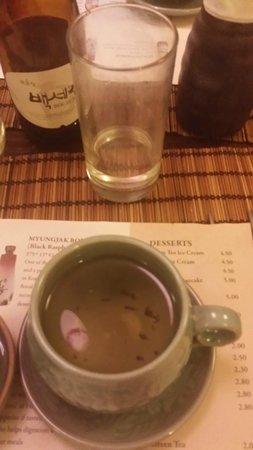 Kimchi: Jasmine Tea - After it was fininshed Brewing