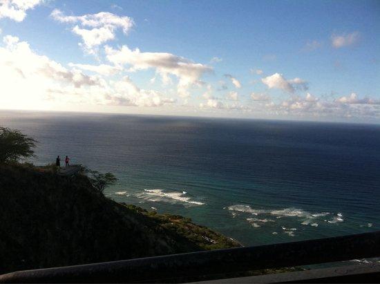 Diamond Head (Cabeza de Diamante): View from top