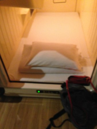 Shinjuku Kuyakushomae Capsule Hotel : My Room for the night