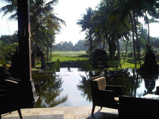 Hyatt Regency Yogyakarta: Lovely setting of the Hyatt Regency Hotel in Yogyakarta...