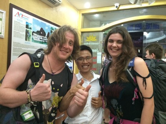 B&B Hanoi Hotel: Tony is legend to help us to sort out all of our trip ,